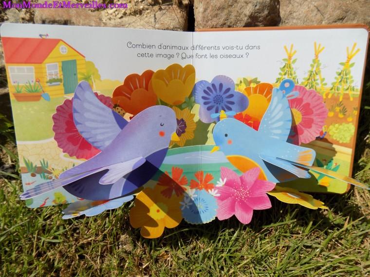 Mon livre pop up le jardin fiona watt editions usborne - Petit jardin livre asnieres sur seine ...